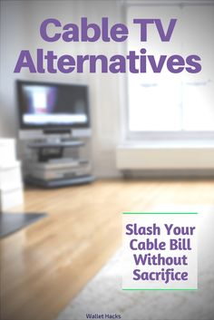 Cable TV Alternatives - Slash your cable bill without sacrifice. Tv Options, Cable Options, Watch Tv Without Cable, Cable Tv Alternatives, Free Internet Tv, Free Tv And Movies, Tv Hacks, Cable Television, Free Television
