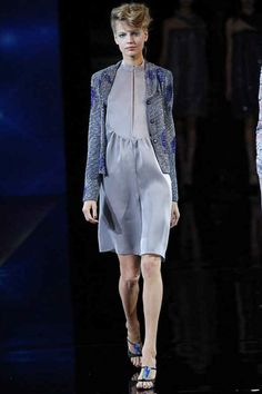 #MFW - Runway Giorgio #Armani Spring 2014 Ready-to-Wear Collection