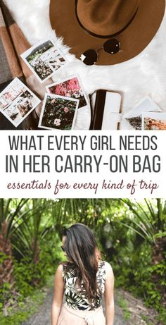 How to pack your carry-on bag for any type of trip, short or long! Tips for travelers. #packingtips #carryonpacking