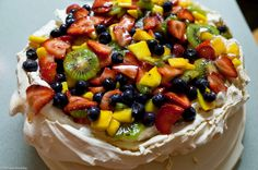 Cake and fruit at the same time. So good