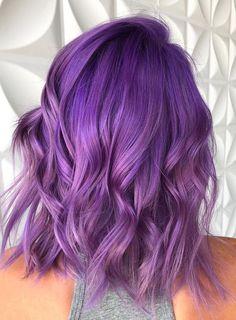 Pokochaj lawendowe włosy!
