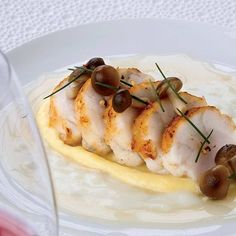 A dish like this, combining deeply flavored ingredients (turnip, miso) with delicate ones (monkfish), calls for a wine that's neither too subtle nor too bold. More Recipes by Eric Ripert Seafood Recipes, Wine Recipes, Cooking Recipes, Detox Recipes, How To Cook Monkfish, Lotte Au Curry, Monkfish Recipes, Monk Fish, Monster Food