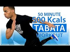 50 Minute Rapid Fat Burning 500 Calorie Tabata HIIT Cardio Home Workout  w/ 100 Total Body Exercises - YouTube