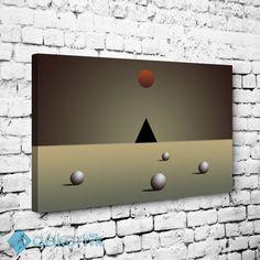 Üçgen ve Daireler Tablo #geometrik_tablolar #geometrik_kanvas_tablolar