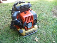 Farm and Garden Mahopac, husqvarna commercial grade leaf blower. husqvarna owns redmax and this blower is the same as a redmax wit. Leaf Blower, Lawn Mower, Outdoor Power Equipment, Yard, Leaves, Ideas, Lawn Edger, Patio, Yards