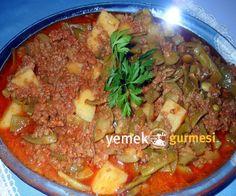 Kıymalı Türlü Yemeği Tarifi - http://www.yemekgurmesi.net/kiymali-turlu-yemegi-tarifi.html
