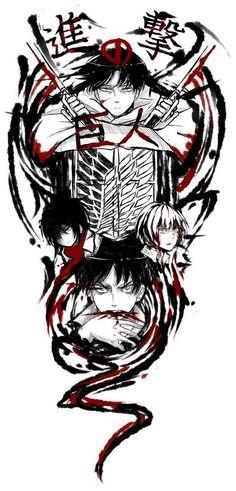 #Shingeki no Kyojin ||| Eren x Almin x Mikasa