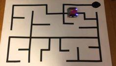 Çizgi Labirenti Çözerek En Kısa Yoldan Bitiş Noktasını Bulan Robot Yapımı