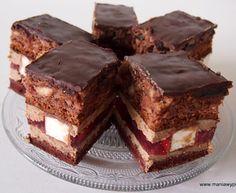 Ciasto z ptasim mleczkiem wg s. Anastazji