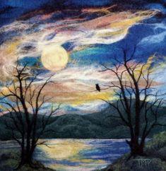 Tracey McCracken Palmer on Felting Landscapes with www.LivingFelt.com/blog