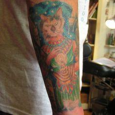 Egyptian Cat Goddess Tattoo