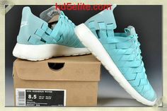 Nike Roshe Run Woven Mens Tiffany Blue 555257 300 Running Shoes Nike, Nike Shoes, Adidas Sneakers, Tiffany Blue Shoes, Nike Roshe Run, Cheap Gifts, New Green, Blue And White, My Style