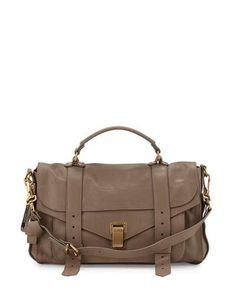 ae6fa6f67f59 Proenza Schouler PS1 Medium Satchel Bag Leather Satchel