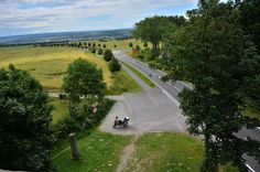 Lookout point near the historic east/west border in Germany #R1200GS