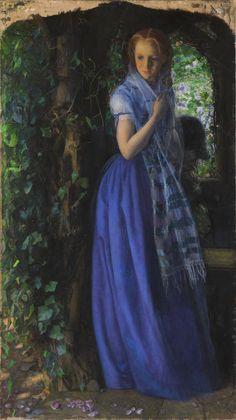 'April Love'. Arthur Hughes. 1855-6. Tate.