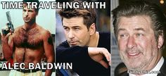 Male Celebrities: Then and Now (Alec Baldwin) - Picture-from stud to old geezer Alec Baldwin, Gloria Trevi, Robert Downey Jr, Bicentennial Man, Celebrities Then And Now, Male Celebrities, Colorized Photos, Stars Then And Now, Top Memes