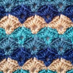 Simply Seashell Crochet Blanket Pattern