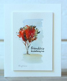 CAS234 Friendship by Biggan - Cards and Paper Crafts at Splitcoaststampers