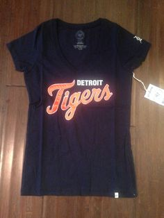 6b4e54132c0 MLB Detroit Tigers Women s Showtime V-Neck T-Shirt