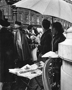 Robert Doisneau // Le baiser sur le quai, 1950