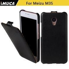 Cubierta del teléfono case para meizu m3s meizu m3s mini case lujo cubierta de cuero del tirón para meizu m3s meizu m3 mini 5 pulgadas imuca casos