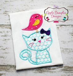 Hey, I found this really awesome Etsy listing at https://www.etsy.com/listing/231642600/cat-and-bird-applique-machine-embroidery