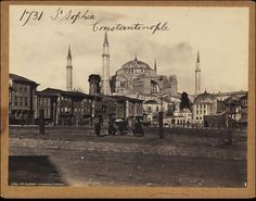 St. Sophia Constantinople   Francis Frith   V&A Search the Collections