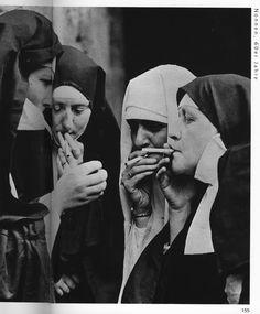 Smokin' nuns
