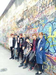 Bangtan Boys looking so nice :)