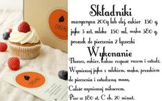Muffinki! Smaczne i proste babeczki. Prosty przepis, który wychodzi zawsze. http://www.e-carla.com