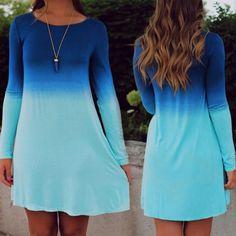Ombré Tunic Dress Sz Small Never worn Dresses