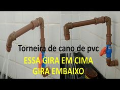 Faucet Repair, Diy, Taps, Bass, Step By Step, Pvc Tube, Bricolage, Do It Yourself, Homemade