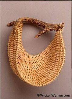 Nesting Quietly Antler Basket Pattern