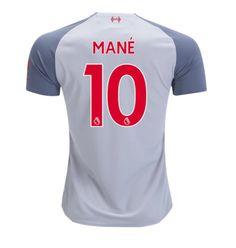 7f6ce48ff Sadio Mane  10 Liverpool 2018 2019 Third Jersey by New Balance - white New  Free Shipping