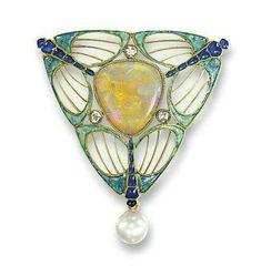 Art Nouveau, René Lalique, Fouquet jewelry - A.lain R. T.ruong