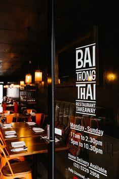Bai Thong Thai restaurant - design by Space Grace & Style