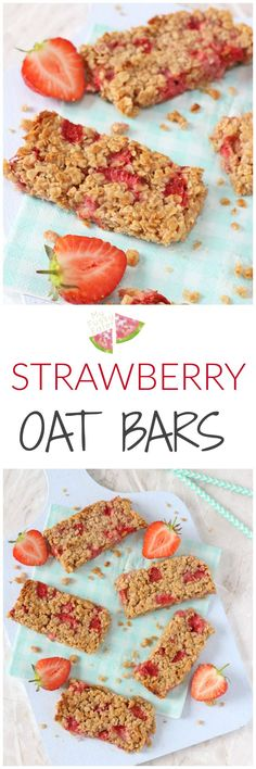 Oat Bars A delicious soft oat bar recipe packed full with sweet strawberries. A tasty and healthy snack for toddlers and older kids!A delicious soft oat bar recipe packed full with sweet strawberries. A tasty and healthy snack for toddlers and older kids! Baby Snacks, Healthy Toddler Snacks, Healthy Treats, Fruit Snacks, Toddler Food, Healthy Kids, Toddler Meals, Healthy Lunches, Fruit Smoothies