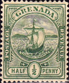 Grenada 1906 Badge of the Colony SG 77 Fine Mint SG 77 Scott 68 Other british Commonwealth stamps here