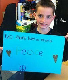 No more hurting people.         ❤ PEACE ❤ Boston Marathon.