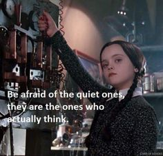 Movie Quotes, Funny Quotes, Life Quotes, Funny Memes, Great Quotes, Quotes To Live By, Inspirational Quotes, Addams Family Quotes, The Quiet Ones
