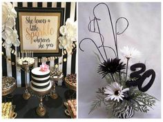 Place Cards, Place Card Holders, Table Decorations, Ideas, Home Decor, Fruit Punch, Retro Party, Black Stripes, Coffee Lovers
