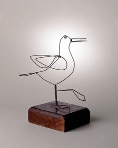 alexander calder animals - Google Search (MBZ note: I know this isn't jewelry- I just wanted to save it to show some of his larger wire work. The man was a genius)