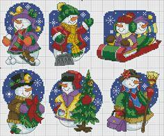 Point de croix Noël*m@* Christmas Cross stitch