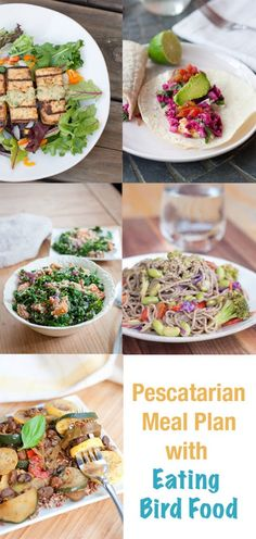 Planning out your meals for next week? Look no further -- here's a Healthy Pescatarian Meal Plan featuring five recipes from EBF and a shopping list!