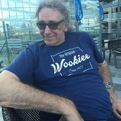 Peter Mayhew, Chewbacca, The Originals, Mens Tops, T Shirt, Fashion, Supreme T Shirt, Moda, Tee Shirt