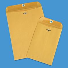 Clasp Envelopes, Legal Envelope Size in Stock - ULINE 9x12 $10 for any