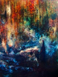 "Saatchi Art Artist Falina Lintner; Painting, ""Harmony in Discord"" #art"