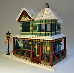 Winter Village: Jewelry Store | by sonicstarlight