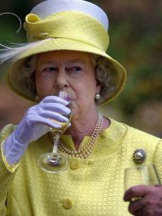 British's Queen Elizabeth II samples a Barrosa wine while visiting Chateau Barrosa in Adelaide, 28 February The British monarch, who is in Australia on the final leg of her golden jubilee tour,. Get premium, high resolution news photos at Getty Images God Save The Queen, Prinz Philip, Die Queen, Royal Queen, Isabel Ii, Her Majesty The Queen, Queen Of England, Queen Mother, Royal Families