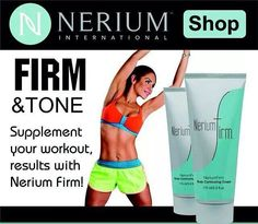 A firming cream that will help tighten those problem areas! http://toddmcmasters.nerium.com/